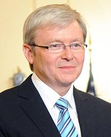 Aussie bid for UN Security Council takes Foreign minister tour Kevin Rudd through Africa